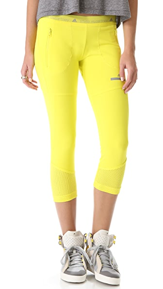 adidas by Stella McCartney 3/4 Running Leggings