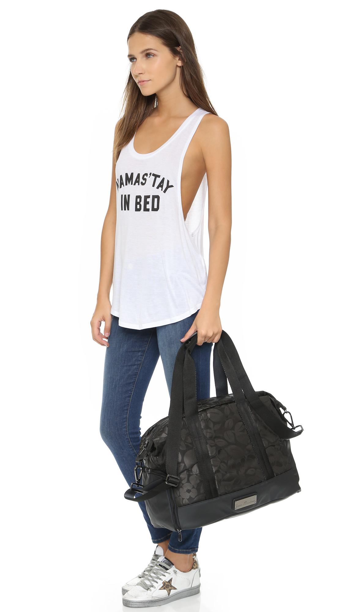 710a56c70a61 adidas by Stella McCartney Small Gym Bag