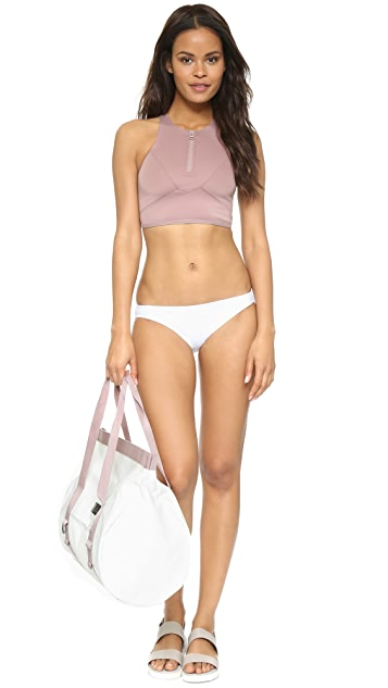 adidas by Stella McCartney Zip Bikini Top