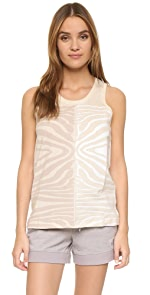 Essentials Zebra Tank                adidas by Stella McCartney