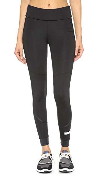 adidas by Stella McCartney The Performance Fold Over Leggings