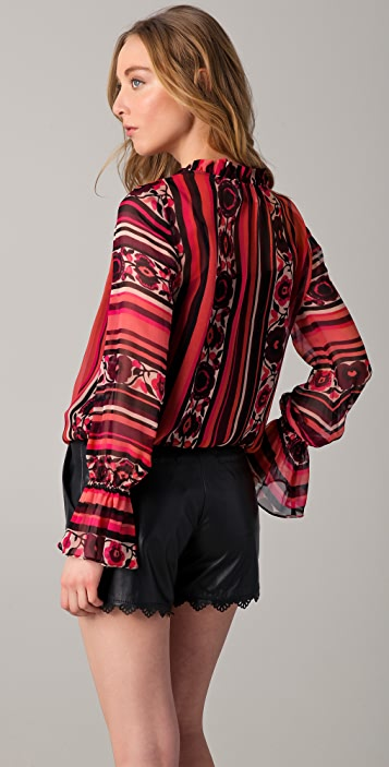 ALICE by Temperley Colorida Blouse