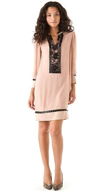 ALICE by Temperley Vanessa Bib Front Dress