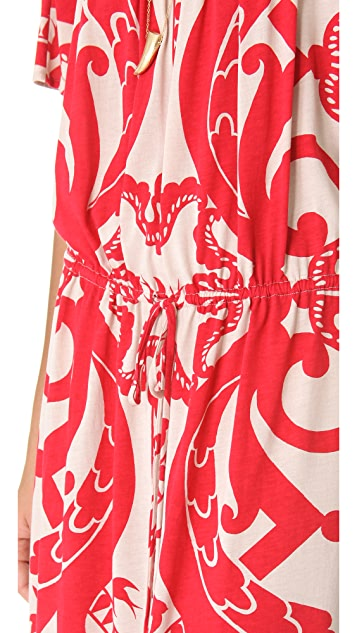 ALICE by Temperley Puccinella Off Shoulder Dress