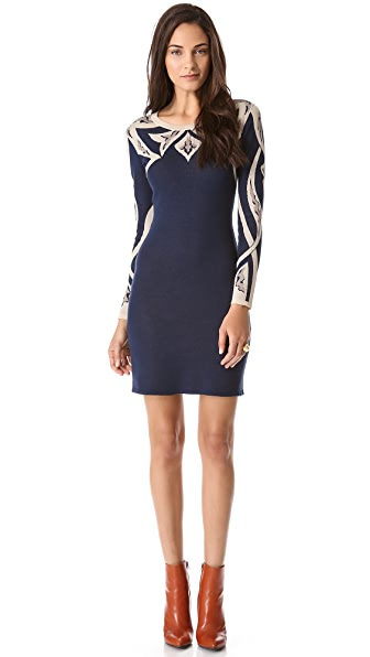 ALICE by Temperley Mini Fitted Mikado Dress