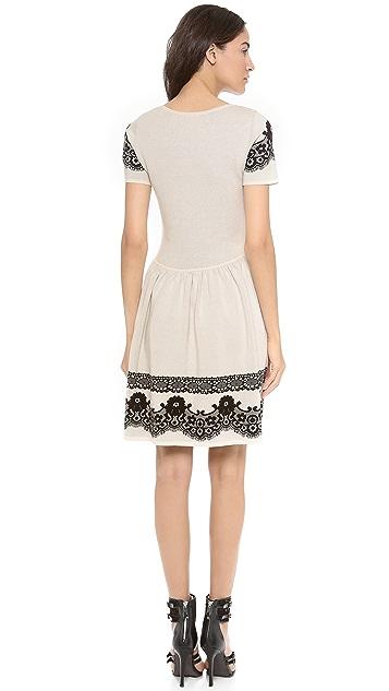 ALICE by Temperley Short Sleeve Wisp Dress