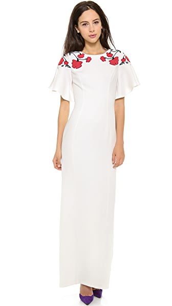 ALICE by Temperley Poppy Maxi Dress