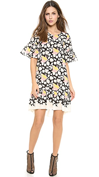 ALICE by Temperley Mini Louis Print Dress