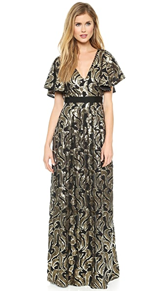 ALICE by Temperley Phoenix Maxi Dress