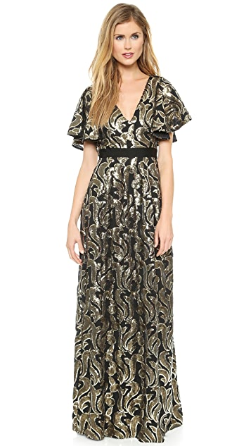 ALICE by Temperley Phoenix Maxi Dress
