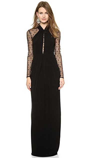 ALICE by Temperley Long Draped Amber Dress