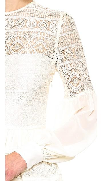 ALICE by Temperley Fleur Lace Dress