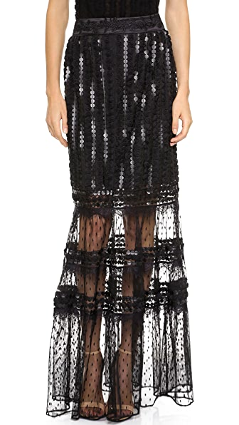 ALICE by Temperley Misty Maxi Skirt