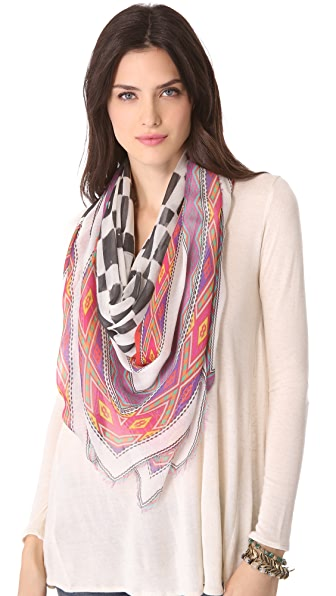 Athena Procopiou The Roses Tribal Games Scarf