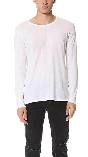 ATM Anthony Thomas Melillo Crew Neck Vintage Jersey T-Shirt