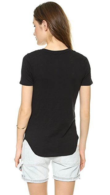 ATM Anthony Thomas Melillo V Neck Tee