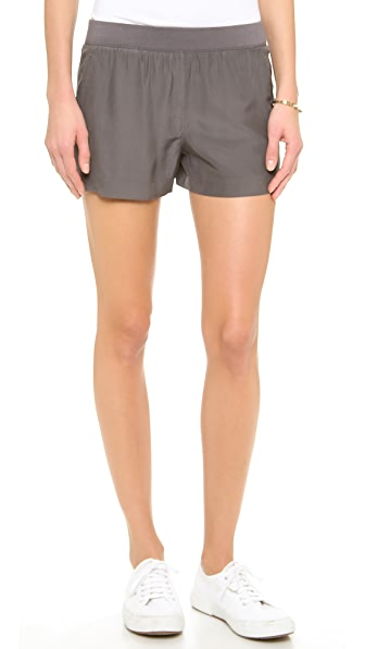 ATM Anthony Thomas Melillo Silk BF Shorts