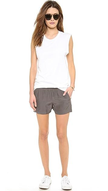 ATM Anthony Thomas Melillo Silk BF Shorts