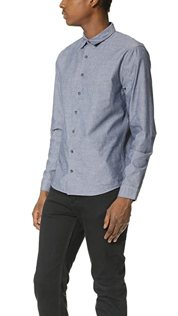 ATM Anthony Thomas Melillo Chambray Dress Shirt