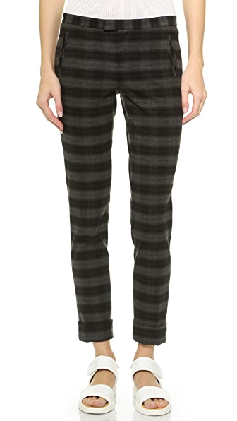 ATM Anthony Thomas Melillo Plaid Slim Pant