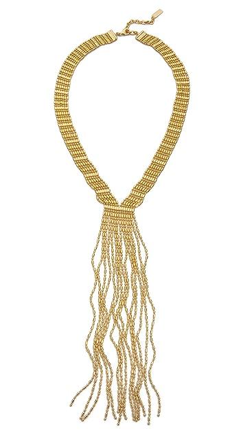AUDEN Leighton Fringe Necklace