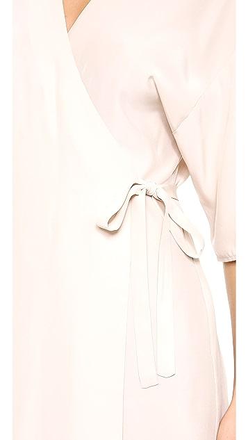 Amanda Uprichard Kimono Wrap Dress