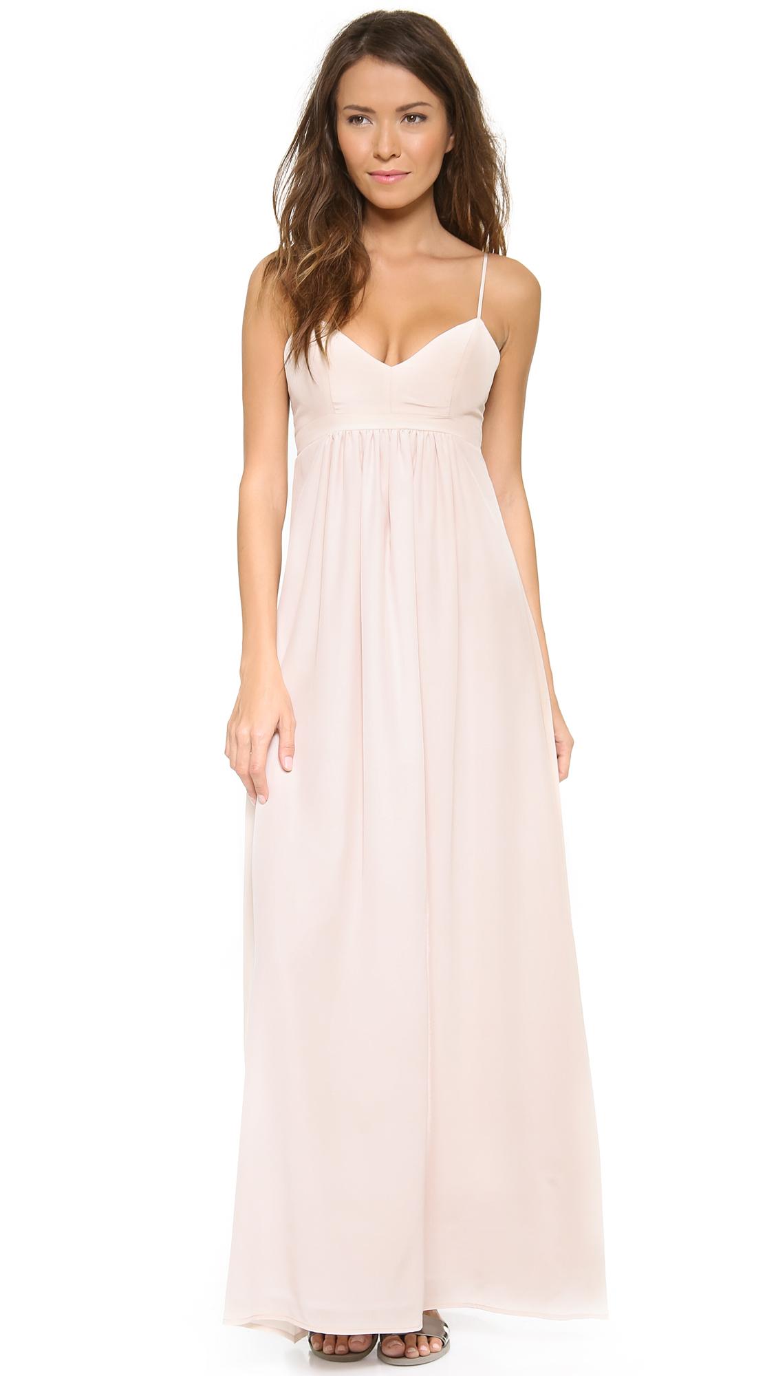 Amanda Uprichard Silk Gown | SHOPBOP