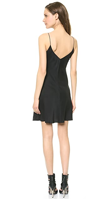 Amanda Uprichard Bias Slip Dress