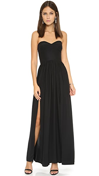 Amanda Uprichard Gisele Gown - Black