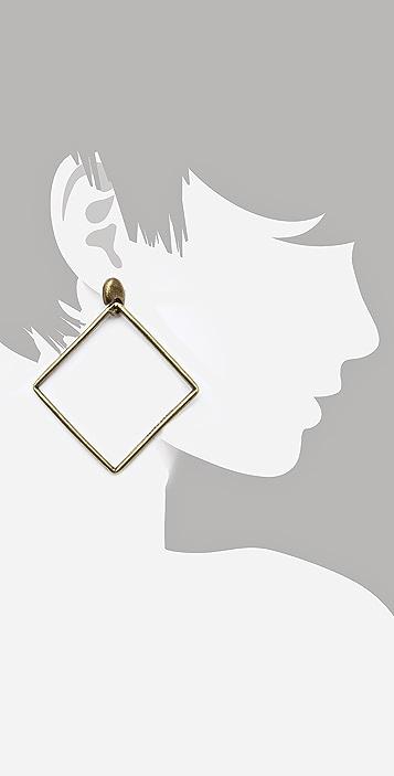 Avant Garde Paris Geometric Drop Earrings