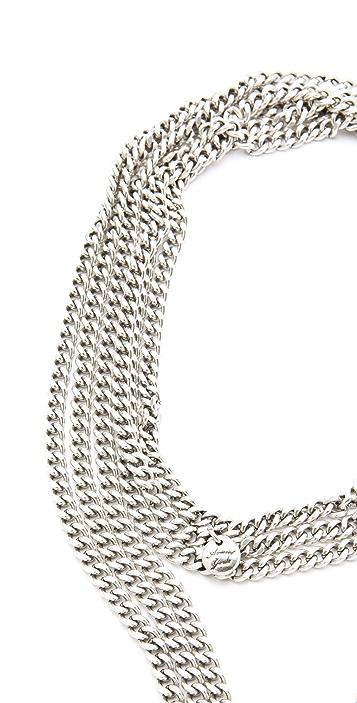 Avant Garde Paris Rocky Long Pendant Necklace