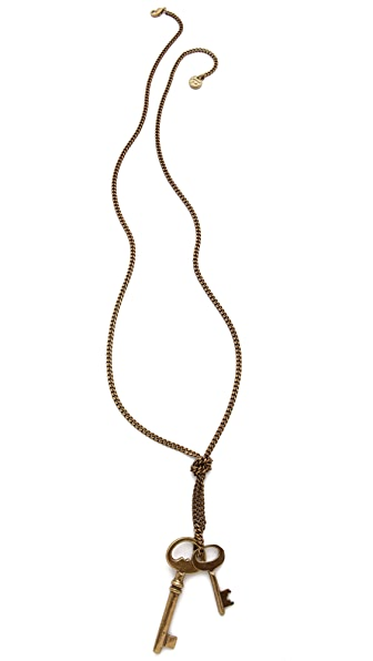 Avant Garde Paris Clefs Necklace