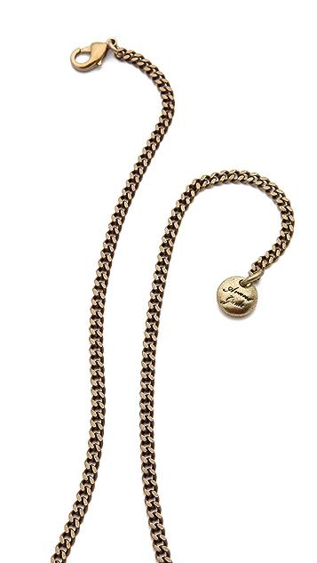 Avant Garde Paris Clefs Necklace