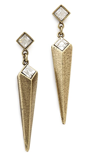 Avant Garde Paris Epee Earrings