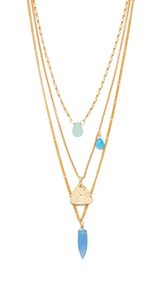 A.V. Max Stone Layered Necklace