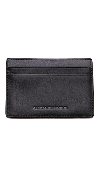 Alexander Wang Cross Cut Card Holder