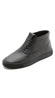 Alexander Wang Ash High Top Snakeskin Sneakers