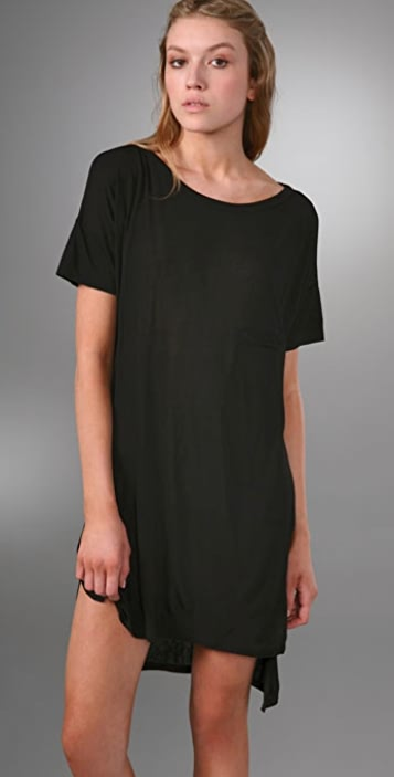 Alexander Wang T Alexander Wang Baggy Boaters Dress