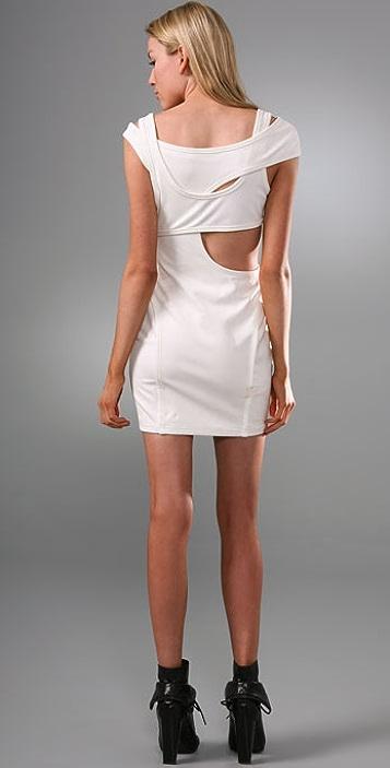 Alexander Wang Cutout Ponte Dress