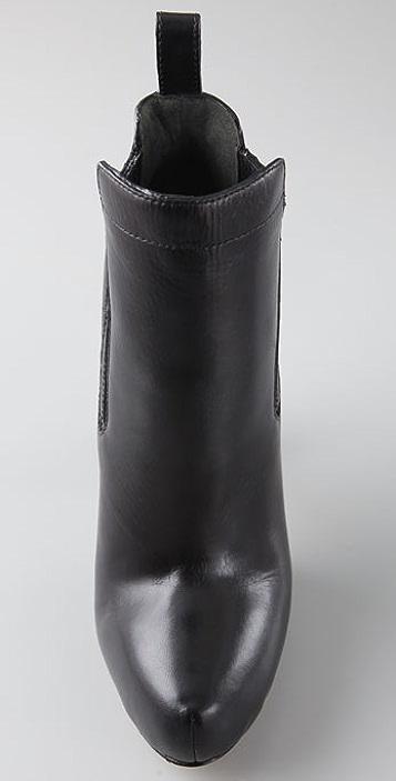 Alexander Wang Anabela High Heel Booties