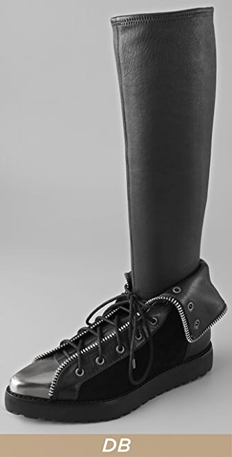 Alexander Wang Mirte Lace Sock Boots