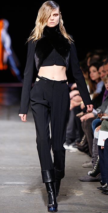 Alexander Wang Pegged Pants with Belt Detail