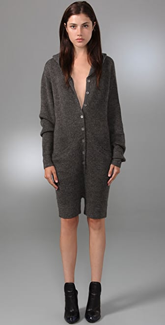 Alexander Wang Hooded Romper