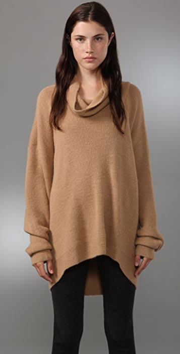 Alexander Wang Cowl Neck Sweater