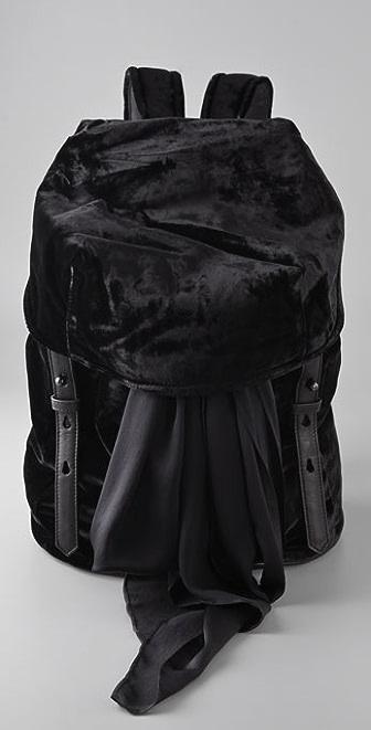 Alexander Wang Sydney Velvet Backpack
