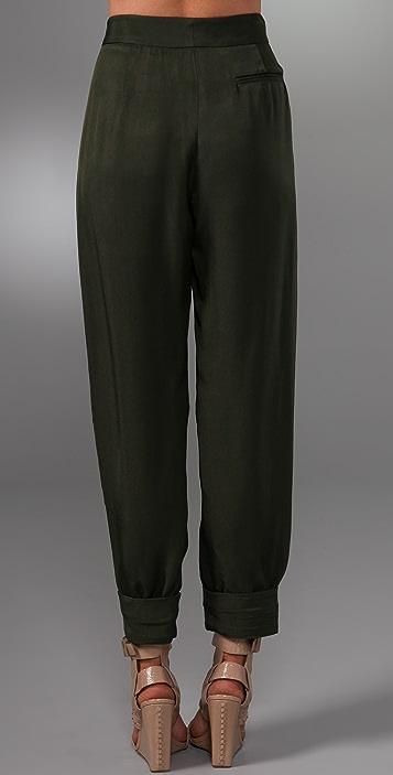 Alexander Wang Double Box Pleat Pants