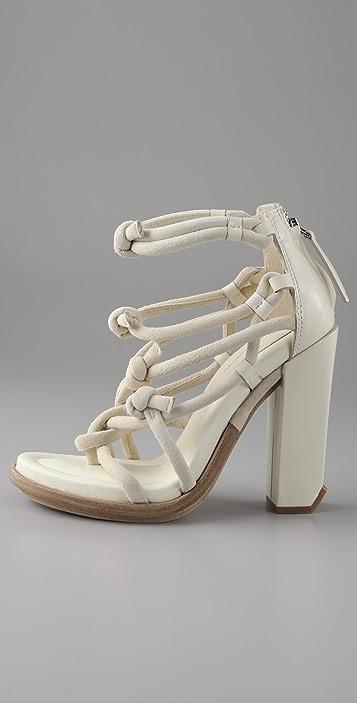 Alexander Wang Tempest Knotted Sandals