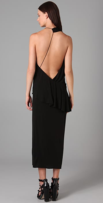 Alexander Wang Asymmetrical Sash Dress