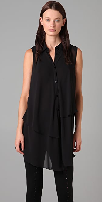 Alexander Wang Tiered Sleeveless Tunic