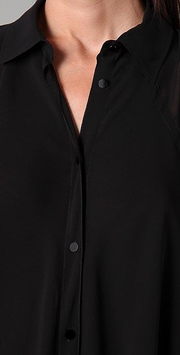 Alexander Wang Tiered Sleeveless Tunic
